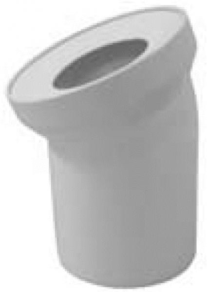 WC-Anschlussbogen DN 100, 22°