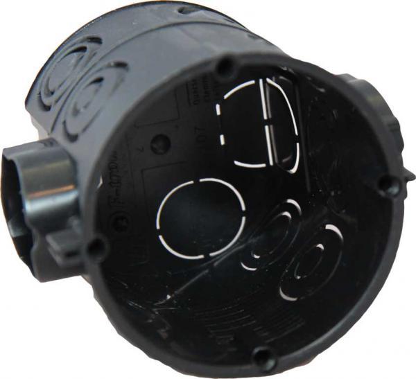 Unterputz-Gerätedosen, Schraubabstand 60 mm, mit 25mm Rohreinführung