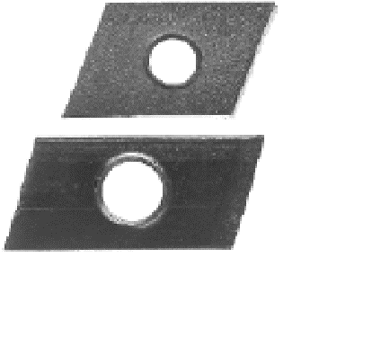 Schiebemuttern, trapezförmig