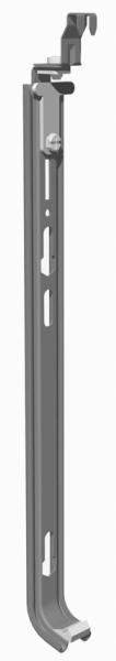 Klickschienen für Heizkörper ohne Halterungen