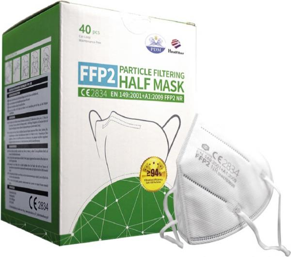 2 Stück FFP2 Masken