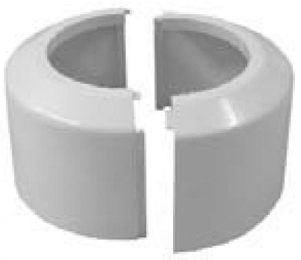 WC-Klapprosette 2-tlg. 100mm, DN 100