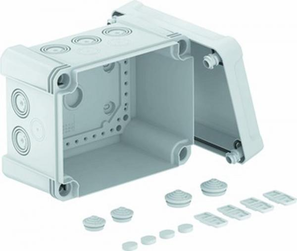 Kabelabzweigkasten X10 LGR, 190x150x125, lichtgrau; RAL 7035, 1 Stück