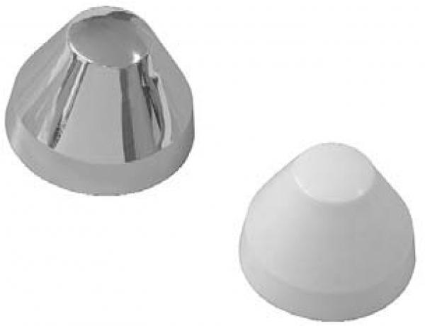 Kunststoffabdeckkappen für Urinal-Befestigungen