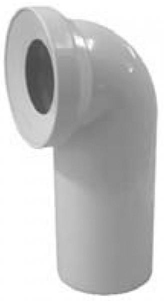 WC-Anschlussbogen DN 100, 90°