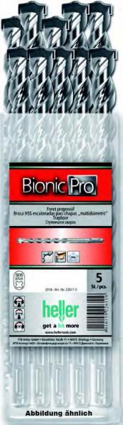 50 Stück Bionic Pro SDS-plus Hammerbohrer in der Öko-Box