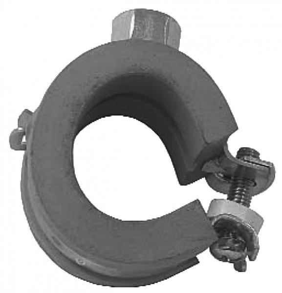 Praktic-Hochtemperaturrohrschellen mit Kippschraube und Schallschutzeinlage